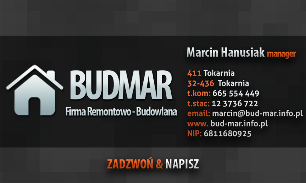 Firma Remontowo Budowlana Budmar Marcin Hanusiak